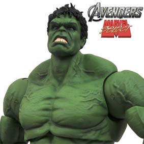 Marvel Select Hulk Avengers Movie Action Figure ( Boneco Hulk filme Os Vingadores )