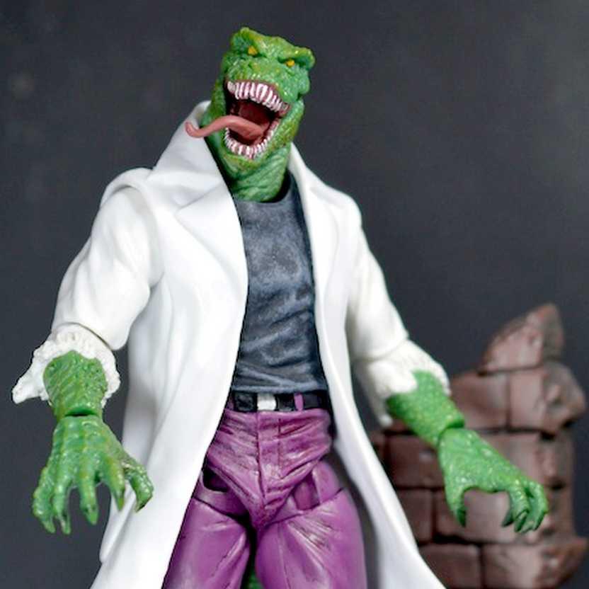 Marvel Select Lizard Figure - Lagarto Diamond Comics Action Figure