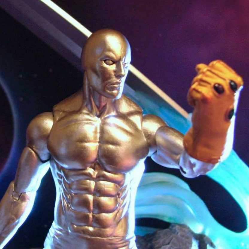 Marvel Select Silver Surfer ( Surfista Prateado ) Diamond Select Action Figure