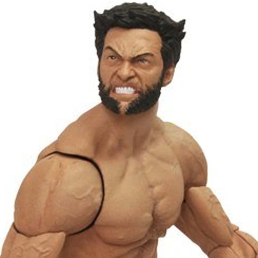 Marvel Select The Wolverine Imortal com 3 cabeças intercambiáveis