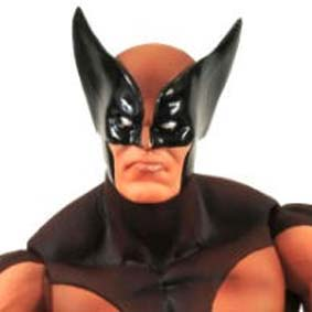 Marvel Select Wolverine brown uniform ( uniforme marrom )