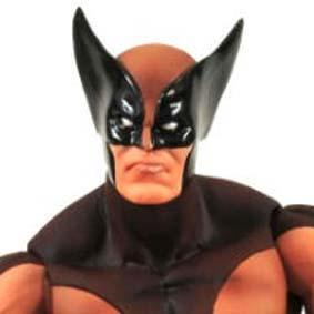 Marvel Select Wolverine brown uniform ( uniforme marrom )
