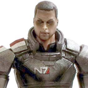 Mass Effect 3 Square Enix Play Arts Kai Series 1 Commander Shepard (Broshep)