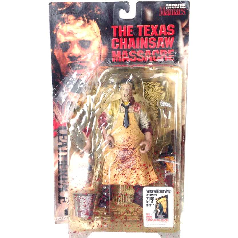 Massacre da Serra Elétrica (Texas Chainsaw Massacre) Leatherface McFarlane Movie Maniacs 1