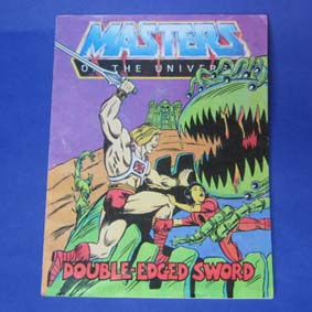 Masters of the Universe Vintage Comic Book - Double-Edged Sword