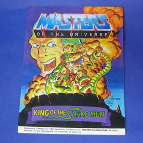 Masters of the Universe Vintage Comic Book - King of the Snake Men