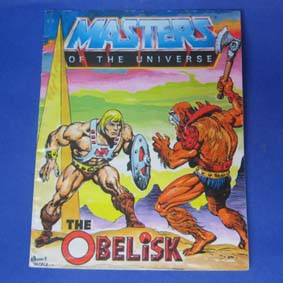 Masters of the Universe Vintage Comic Book - The Obelisk