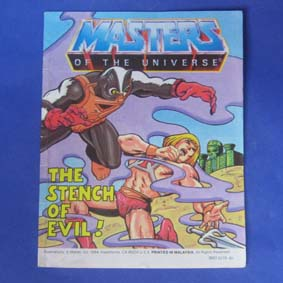 Masters of the Universe Vintage Comic Book - The Stench of Evil !