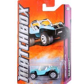 Matchbox 2012 Buggy Baja Bandit W4868 serie 10/10 escala 1/64