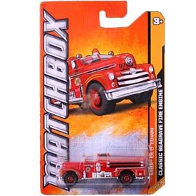 Matchbox 2012 Classic Seagrave Fire Engine ( Bombeiros ) W4892 série 70/120