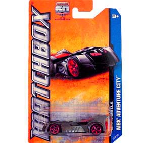 Matchbox 2013 60th Anniversary Batmobile Y0960 10/120