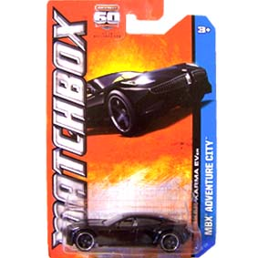 Matchbox 2013 60th Anniversary Fisker Karma EVer Y0956 serie 6/120