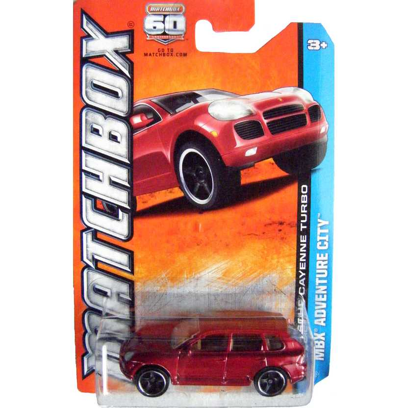 Matchbox 2013 60th Anniversary Porsche Cayenne Turbo 24/120 Y0647