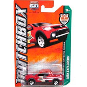 Matchbox 2013 60th Anniversary Volkswagen Saveiro Cross vermelha 89/120 Y0877