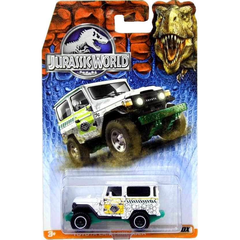 Matchbox 2015 Jurassic World Toyota Bandeirante (Land Cruiser) DFT52 escala 1/64 RARO