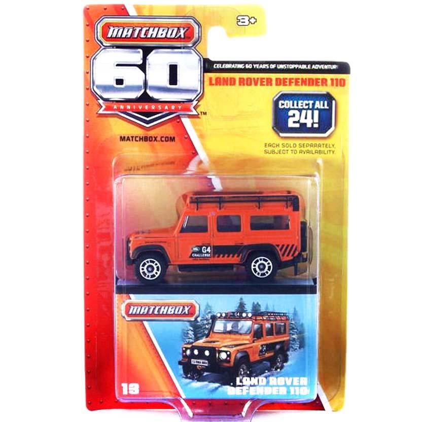 Matchbox 60 Anniversary 13/24 Land Rover Defender 110 Y5338
