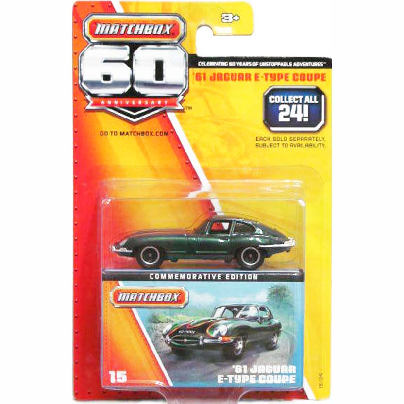 Matchbox 60 Anniversary 15/24 Jaguar E-Type Coupe (1961) Y5343
