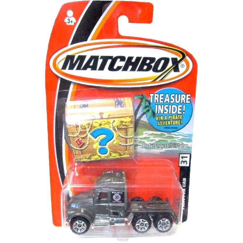 Matchbox caminhão Tractor Cab #31 H1837 escala 1/64