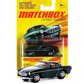 Matchbox Carrinhos escala 1/64 Lesney Edition Volvo P1800S (1969)
