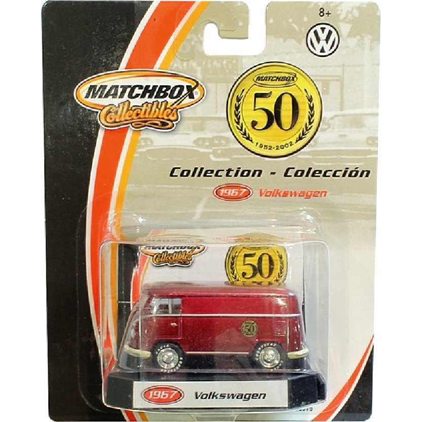 Matchbox Collectibles 50th Anniversary VW Kombi (1967) Volkswagen Bus escala 1/64