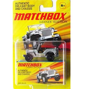 Matchbox Lesney Edition Jeep Willys Army Military