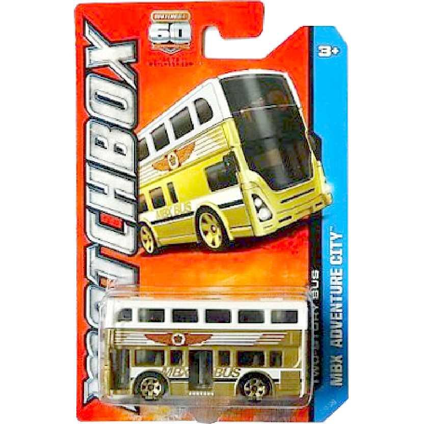 Matchbox Two Story Bus London Bus (Double Deck) Y0502 escala 1/64