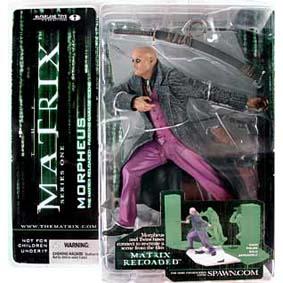 Matrix Bonecos McFarlane Toys Brasil / Boneco Morpheus (série 1)