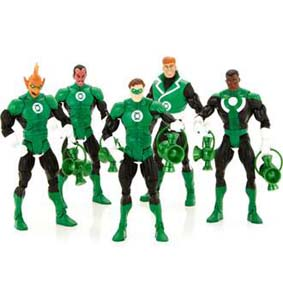 Mattel DC Universe Classics Green Lanterns - 5 Bonecos do Lanterna Verde