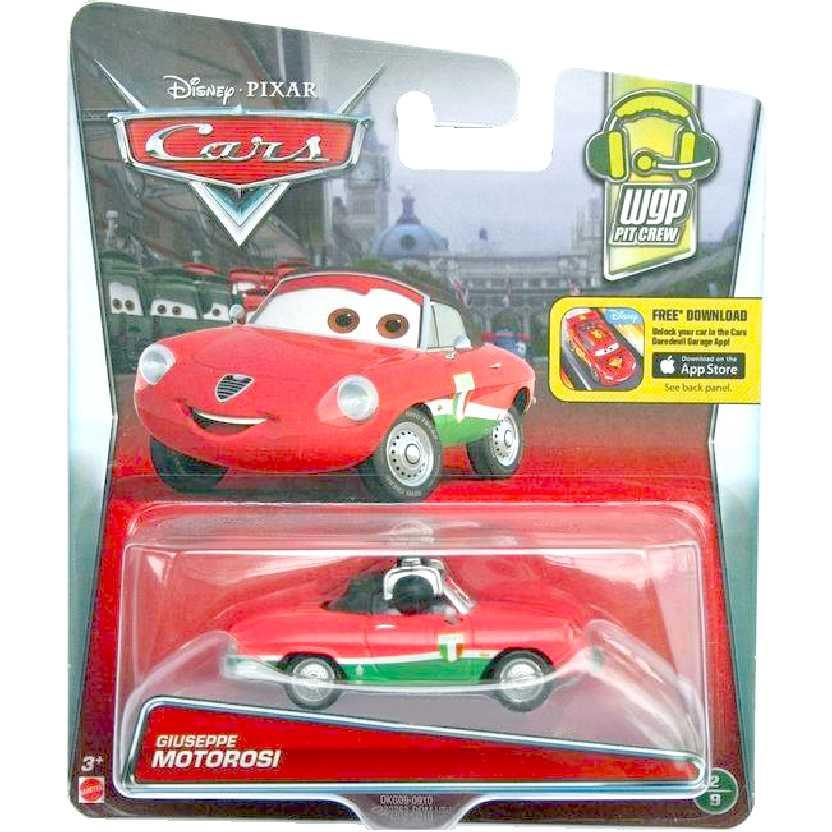 Mattel Disney Pixar Cars Giuseppe Motorosi Radiator Springs 2/9 escala 1/55