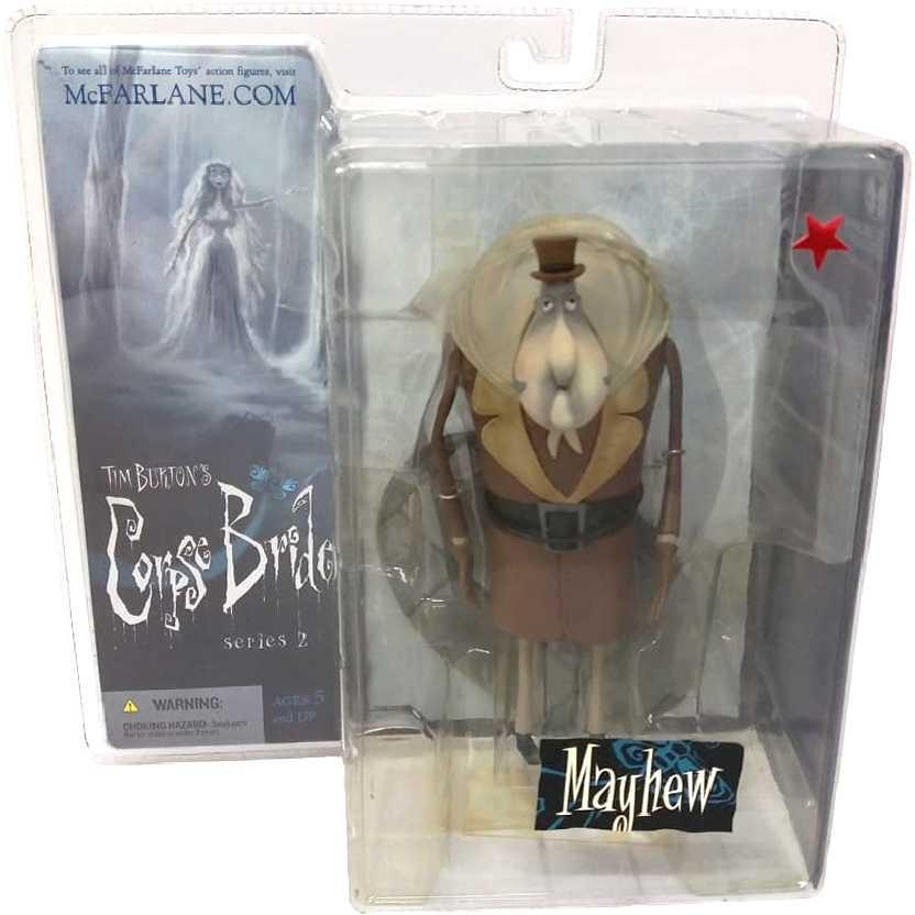 Mayhew (série 2) A Noiva Cadáver Corpse Bride McFarlane Action figures