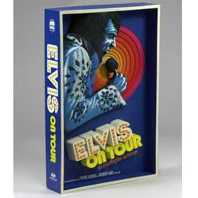 Mcfarlane 3d Poster Elvis On Tour de 1972 ( Quadro 3-d do Elvis Presley )