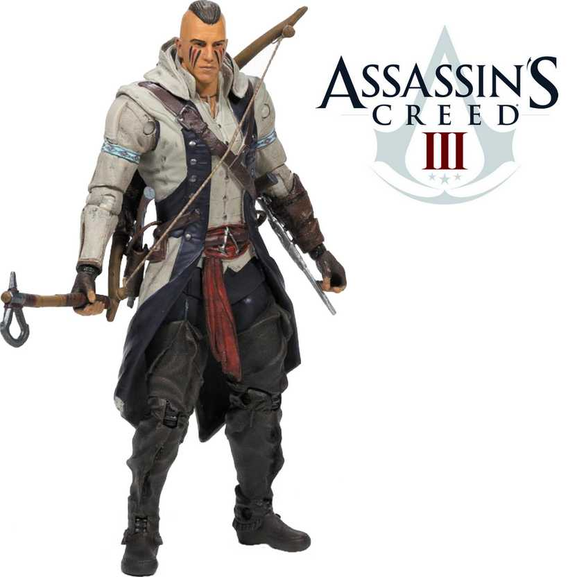 McFarlane Assassins Creed III - Connor with Mohawk action figure