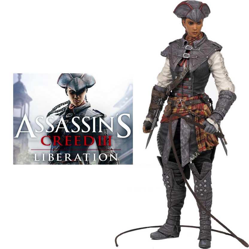 McFarlane Assassins Creed III Liberation - Aveline de Grandpré action figure