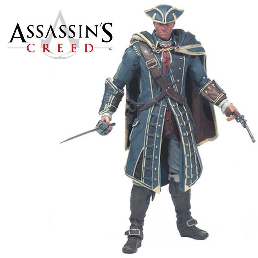 McFarlane Assassins Creed III series 1 Haytham Kenway Action Figure