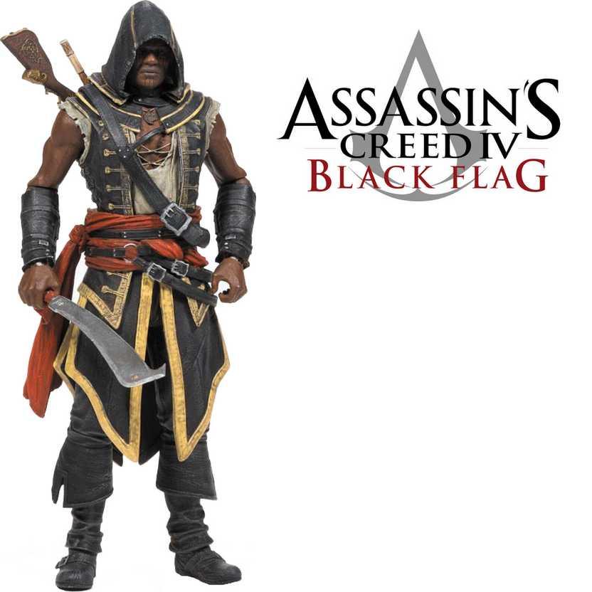 McFarlane Assassins Creed IV Black Flag - Assassin Adewale action figure