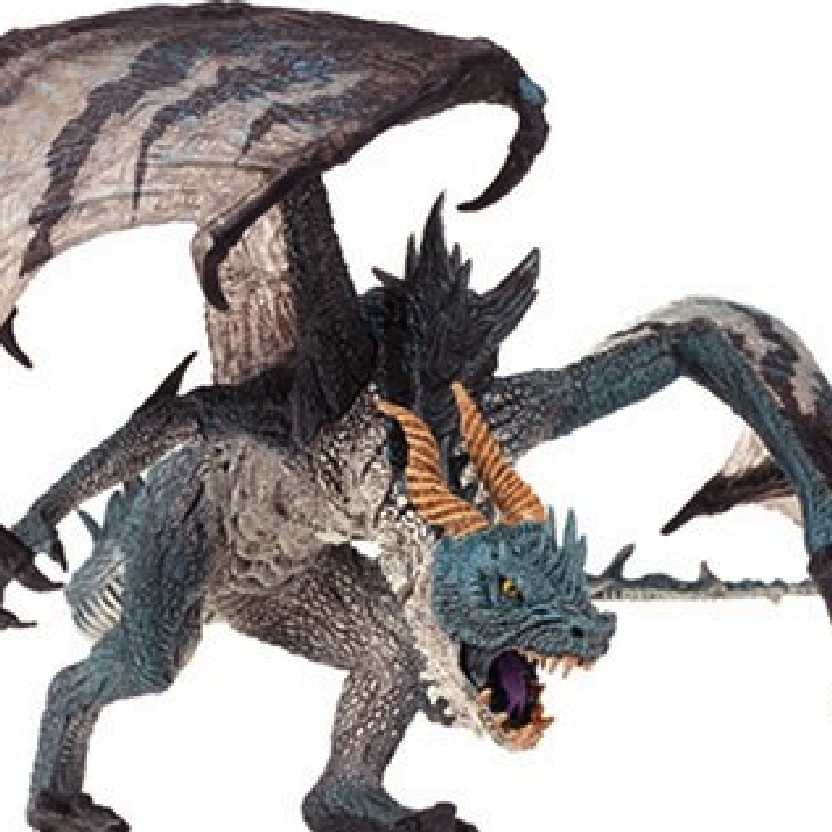 McFarlane Dragons series 1 Komodo Dragon Clan Dragons Quest for the Lost King (aberto)