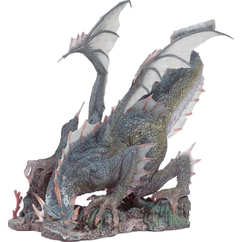 McFarlane Dragons series 1 Water Dragon Clan Dragons Quest for the Lost King (aberto)