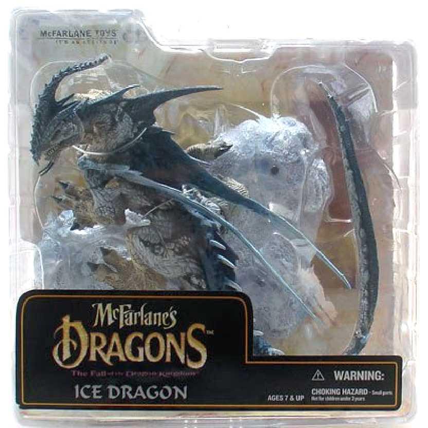 McFarlane Dragons series 6 Ice Dragon Dragão do gelo série 6