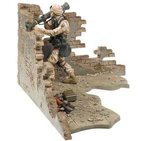 Mcfarlane Military Brasil Army Desert Infantry Deluxe Boxed Set ( + barato que EBAY )