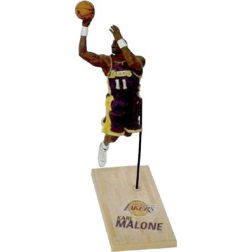 McFarlane NBA Karl Malone loose 3 inch Mini Figure Los Angeles Lakers (aberto)