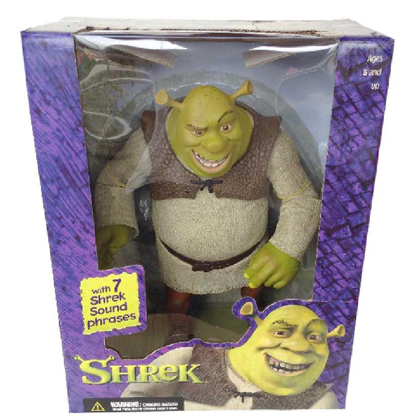 Mcfarlane Shrek toys (fala 7 frases) Boneco do Shrek com som