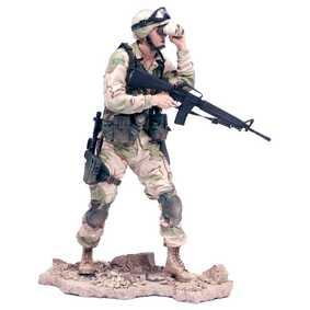 Mcfarlane Toys Military Army Desert Infantry (série Redeployed) ABERTO