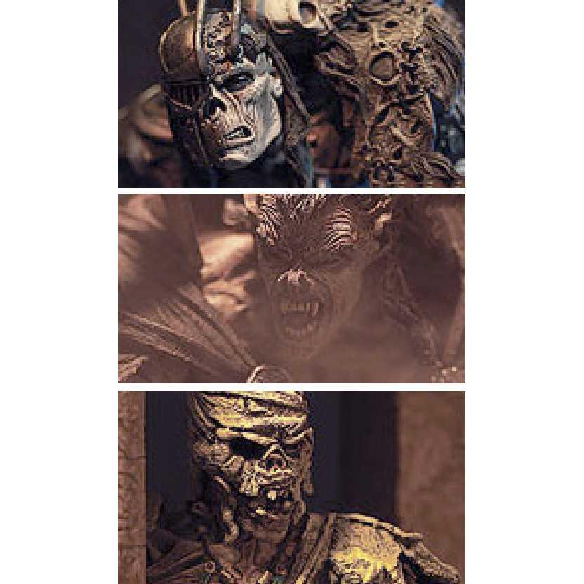 McFarlane Toys Monsters Icons of Horror Dracula Frankenstein Mummy Figure 3 Pack