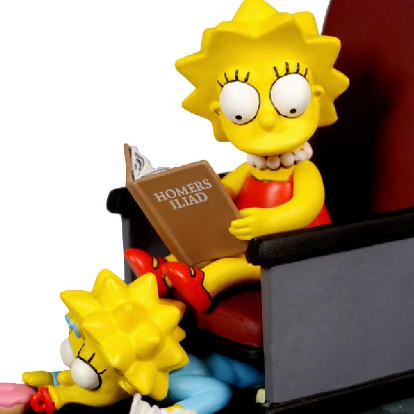 McFarlane Toys Movie Mayhem Lisa + Maggie The Simpsons Movie Action Figure com som