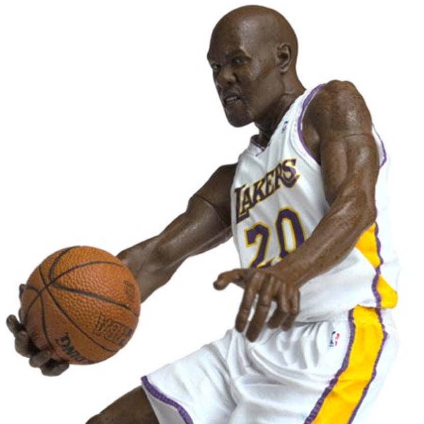 Mcfarlane Toys NBA series 6 : Gary Payton Los Angeles Lakers Action Figure