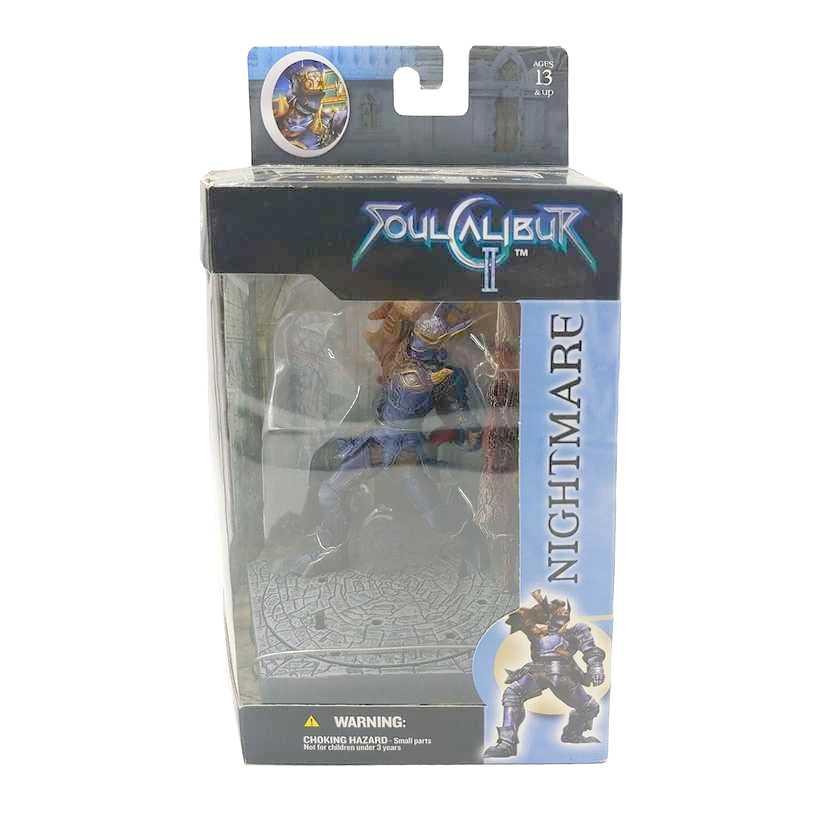 Mcfarlane Toys Soul Calibur II 2 Nightmare Namco Video Games Raro
