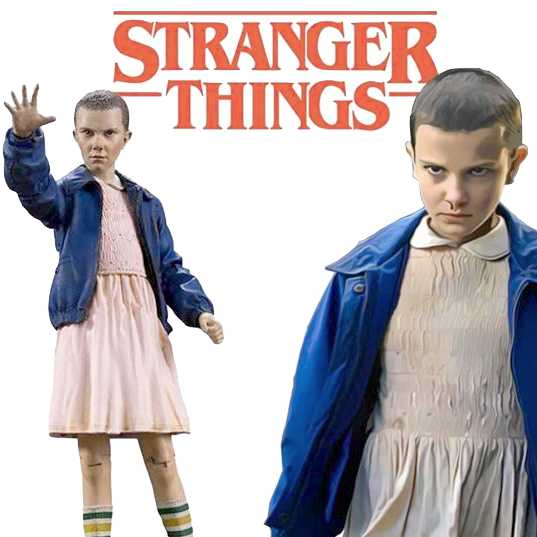McFarlane Toys Stranger Things Eleven action figure do Mundo Invertido