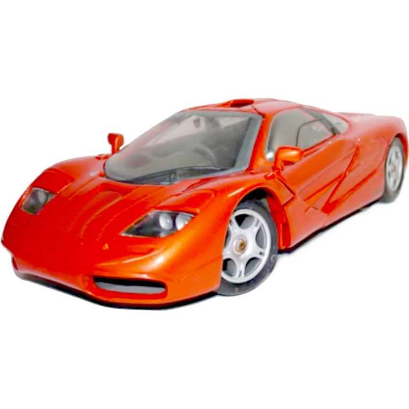 McLaren F1 cor laranja metálico (1993) : miniatura Maisto escala 1/18