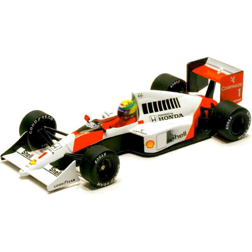 McLaren MP4/5 Honda V10 (1989) Ayrton Senna marca Minichamps escala 1/43