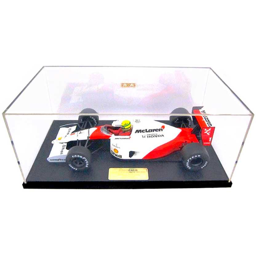 McLaren MP4/6 Honda Tamiya Collectors Club (1991) Ayrton Senna escala 1/20